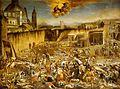Micco Spadaro - Largo Mercatello durante la peste a Napoli (1656).jpg