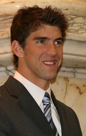 Octuple champion - Image: Michael Phelps 2009