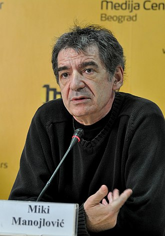 Miki Manojlović - Image: Miki Manojlovic mc.rs