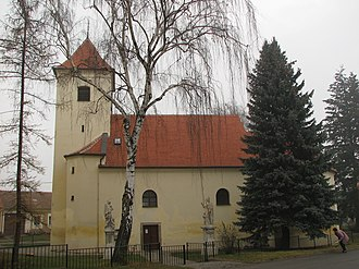 Mikulčice - Church of the Assumption in Mikulčice