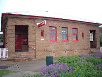 Millthorpe, New South Wales - Image: Millthorpe Post Office