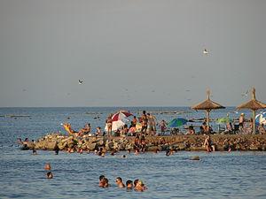 Aguas estancadas y lagos de agua salada  300px-Miramar_playa