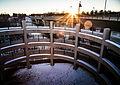 Mississippi River Trail and Sauk Rapids Regional Bridge, Minnesota (23511511743).jpg