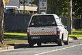 Mobile Speed Camera fitted to a Ford FG Falcon Ute parked on Hammond Ave in East Wagga.jpg