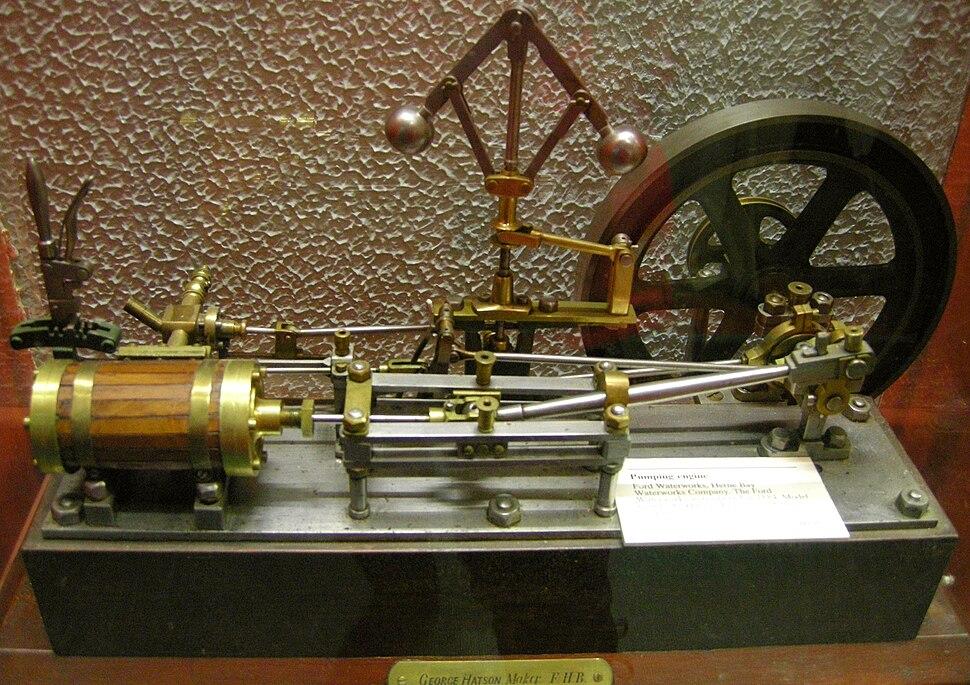Model of pumping engine 023