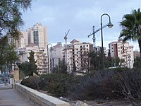 Modern construction in Beersheba (2005)