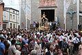 Momento immediatamente successivo alla solenne uscita del simulacro di San Rocco a Satriano di Lucania.JPG
