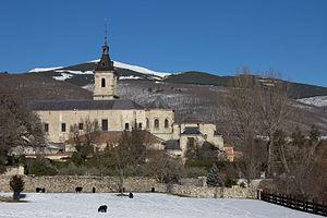 Monastery of El Paular - Image: Monasterio de Santa María de El Paular 01