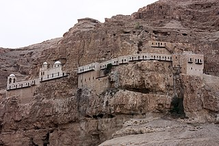 Orthodox Christian monastery located in the West Bank