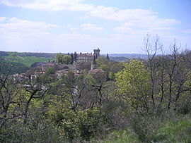 View of Montégut