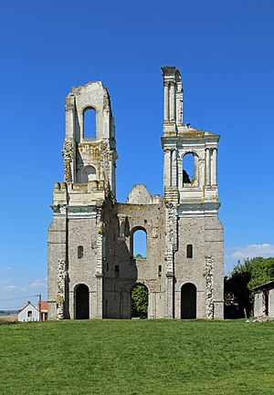 Former abbey of Mont-Saint-Eloi (France)