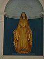 Montagnac-sur-Auvignon église choeur statue.JPG