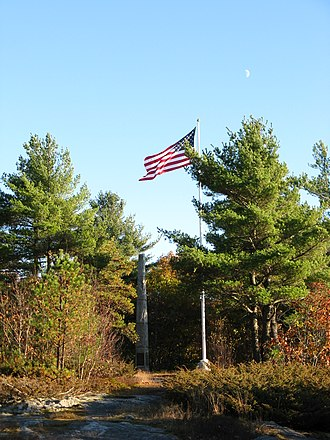 Leeds, Maine - Monument Hill