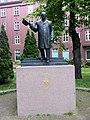 Monument to King Olav V in Trondheim.jpg