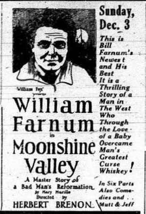 Moonshine Valley - Newspaper ad