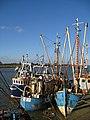 Moored fishing boats at Boal Quay - geograph.org.uk - 673002.jpg