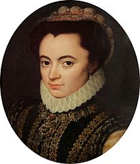 Retrato de Maria de Portugal, Duquesa de Parma