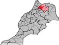Morocco, region Taza-Al Hoceima-Taounate, province Taounate.png