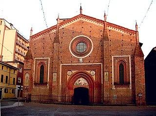 church in Mortara, Italy