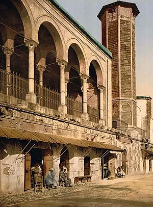 1814 in architecture - Saheb Ettabaâ Mosque - photochrom of 1899