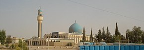 Mosque in Anah Iraq protected by USMC in August 2008.jpg