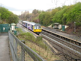 Moston railway station, looking south in 2008.jpg