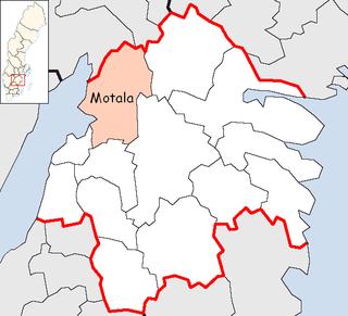 Motala Municipality Municipality in Östergötland County, Sweden
