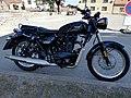 Motorcycle Benelli Imperiale 400 Tetin Czech Republic 2020.jpg