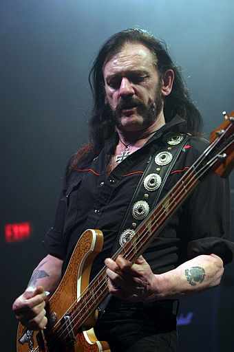 Lemmy of the 2005 award-winning band, Motorhead Motorhead-01.jpg