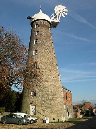 Moulton Windmill - The mill in 2005