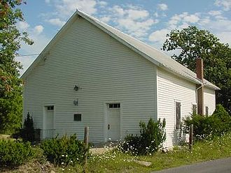 Hampshire County, West Virginia - Mount Bethel Church at Three Churches, WV.