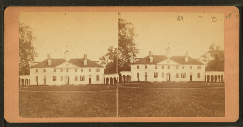 File:Mount Vernon, Nov. 8, 1878. Old kitchen where state dinner was prepared, from Robert N. Dennis collection of stereoscopic views.png
