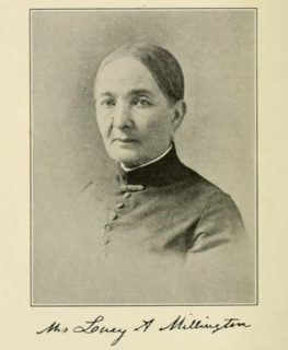 Lucy Millington American botanist and writer