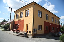 Municipal office in Mastník, Třebíč District.JPG