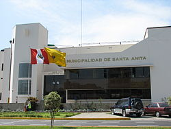 Santa Anita District town hall
