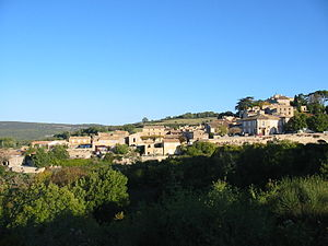 Murs, Vaucluse - A general view of the village of Murs