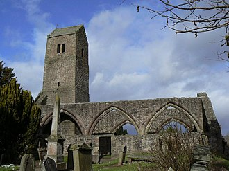 Muthill - Ruined medieval Church at Muthill