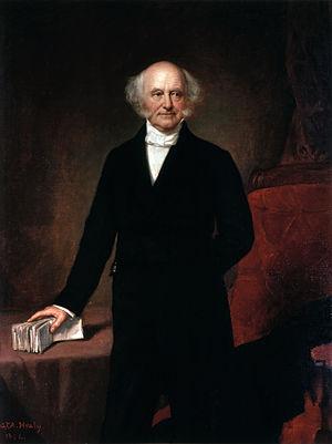 Presidency of Martin Van Buren - Official presidential portrait of Martin Van Buren