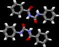 N-Benzoyl-N'-phenylurea dimer SXD.png