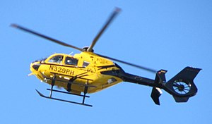 University of Maryland Medical Center - A PHI operated Eurocopter EC135 for UMMC
