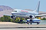 N732VA Vision Airlines 1985 Boeing 737-3TO C-N 23366 (14531959375).jpg