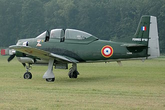 French Air Force - A North American T-28 Trojan, used against guerrillas during the Algerian War.