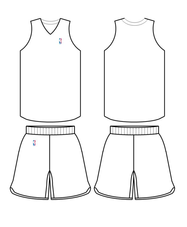 Basketball Uniforms Template File:nba uniform template.png