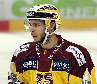 Dario Trutmann Swiss ice hockey player
