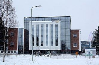 Nokia Networks - Office building in Oulu, Finland.