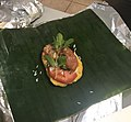 Nacatamal with banana leaf and aluminum foil.jpg