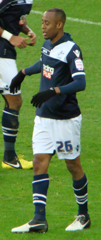 Jimmy Abdou - Abdou playing for Millwall in 2012