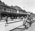 Nagyvárad 1941, vasútállomás. Fortepan 6070.jpg