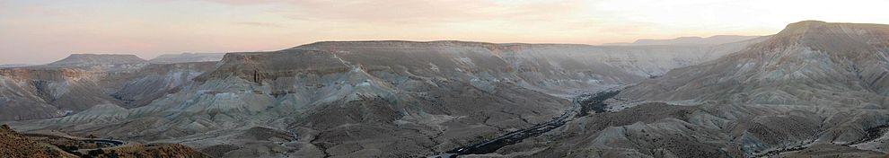 מראה פנורמי- הרי הנגב