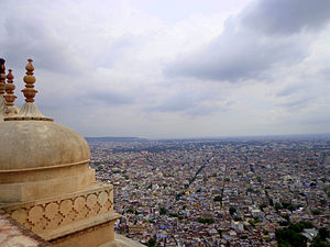 Nahargarh Fort - Nahargarh Fort view